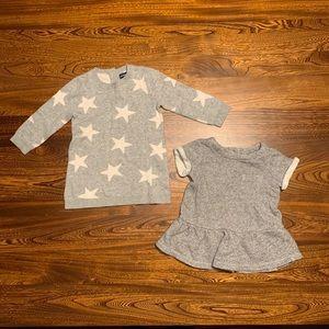 BabyGAP, Sweater Dress Bundle, 6-12 months